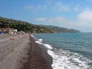 Алушта солнечногорское пляжа 10